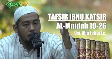 Ibnu Katsir Almaidah 19-26