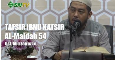 Ibnu Katsir Almaidah